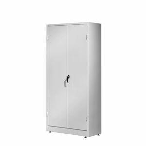 Kovová skříň Sense, 1800x800x400 mm, šedá