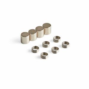 Sada magnetů a kovových kroužků na popisovače s 2mm hrotem