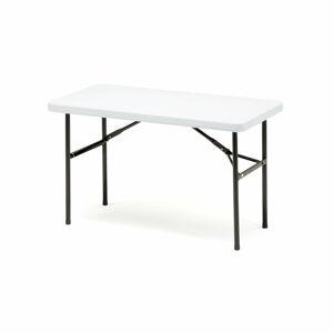Skládací stůl Klara, 1220x610 mm, plastová deska