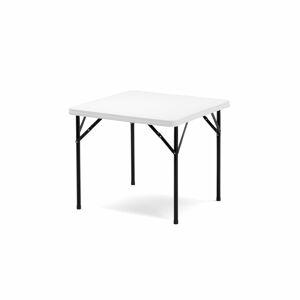Skládací stůl Klara, 860x860 mm, plastová deska