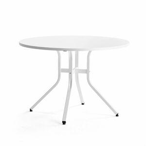 Stůl Various, ?1100 mm, výška 740 mm, bílá, bílá