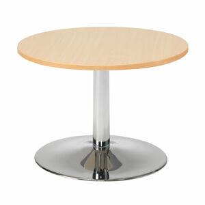 Konferenční stolek Monty, ?700 mm, buk/chrom,