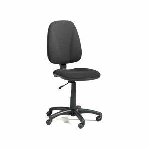 Kancelářská židle Dover, vysoké opěradlo, černá