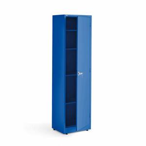 Kovová skříň Smart, 1900x530x400 mm, modrá