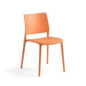 Židle Rio, oranžová