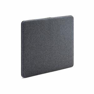 Nástěnka - akustický panel Zip Calm, 800x650 mm, tmavě šedá