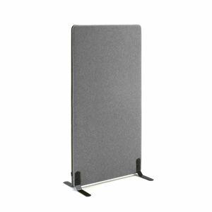 Kancelářský paraván Zip Calm, 800x1400 mm, šedá