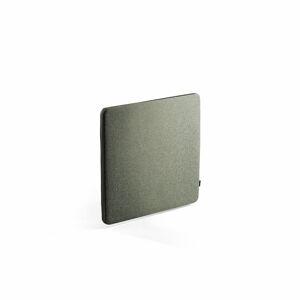Nástěnka - akustický panel Zip Rivet, 800x650 mm, černý zip, zelenomodrá