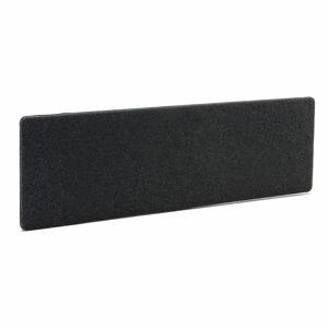 Stolový paraván Zip Calm, 2000x650 mm, tmavě šedá