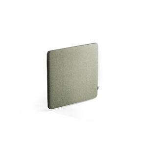 Stolový paraván Zip Rivet, 600x650, černý zip, zelenomodrá