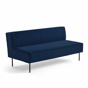 Pohovka Copenhagen Plus, 2místná, textilní potah, námořnická modrá