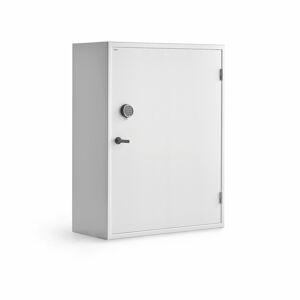 Bezpečnostní skříň, elektronický kódový zámek, 1500x1000x500 mm