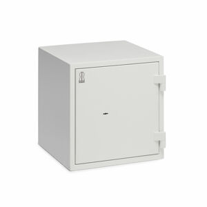 Ohnivzdorná bezpečnostní skříň Fort, zámek na klíč, 490x480x480 mm