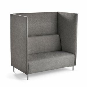 Akustická sedačka Hush, 2místná, tmavě šedá