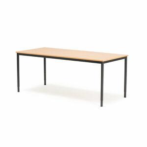Psací stůl Adeptus Adeptus 160 x 80 cm, světle hnědá