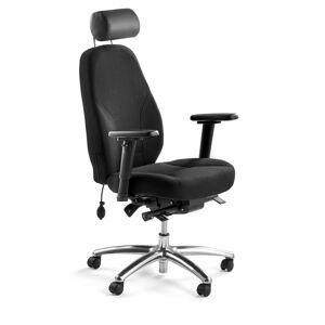 Kancelářská židle Kingsbury, černá