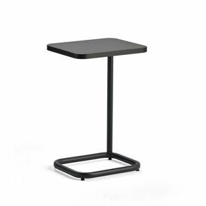 Stolek na notebook Standby, 425x350x647 mm, černý, černá deska