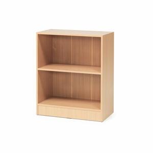 Kancelářská skříň Flexus, 92.5 x 41.5 x 76 cm, světle hnědá