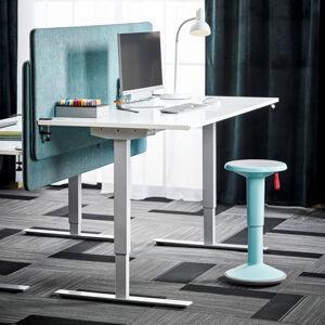 Výškově nastavitelný stůl Flexus 160 x 80 cm, bílá