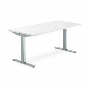 Psací stůl Modulus 160 x 40 x 80 x 80 cm, bílá