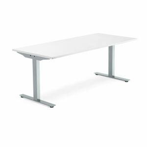 Psací stůl Modulus 180 x 80 cm, bílá
