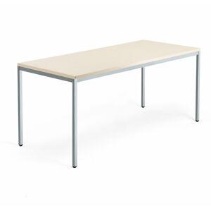Psací stůl Modulus 4 nohy 180 x 80 cm, béžová