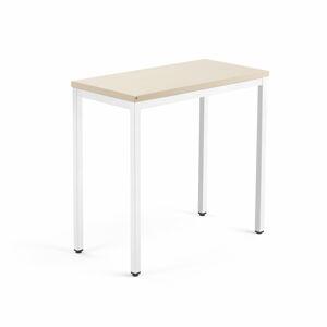Přídavný stůl Modulus 4 nohy 80 x 40 cm, béžová