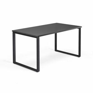 Psací stůl Modulus 140 x 80 cm, černá