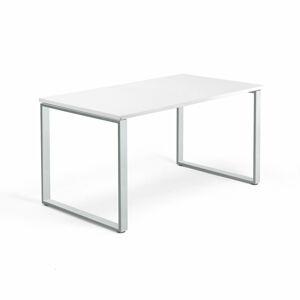Psací stůl Modulus 140 x 80 cm, bílá