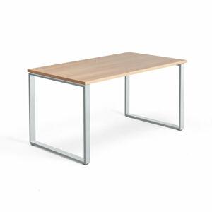 Psací stůl Modulus  140 x 80 cm, světle hnědá