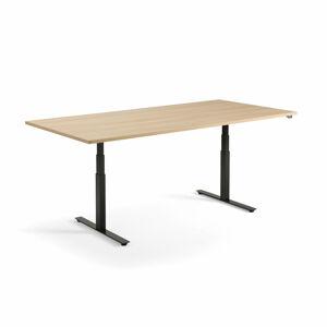 Jednací stůl Modulus 240 x 120 cm, světle hnědá