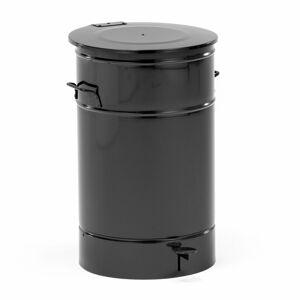 Nádoba na odpad Liston, 70 l, černá