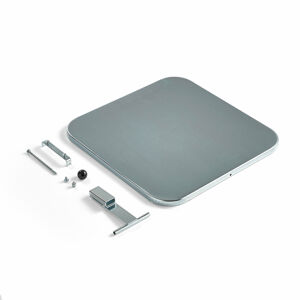 Lid for 125 l stand, silver
