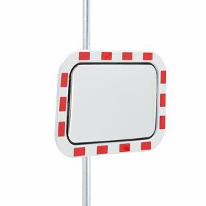 Bezpečnostní zrcadlo, 600x400 mm, akrylátové