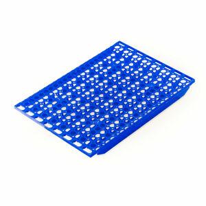 Přídavná police, Š 1200 x H 600 mm, modrá