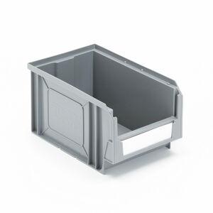 Plastový box Apart, 235x145x125 mm, šedý