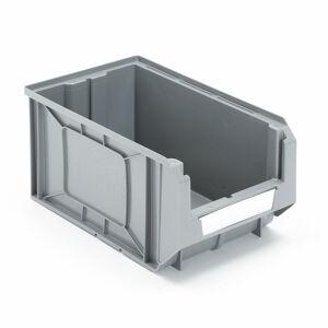 Plastový box Apart, 345x205x165 mm, bal. 24 ks, šedý