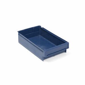 Plastový box, 400x230x100 mm, modrý