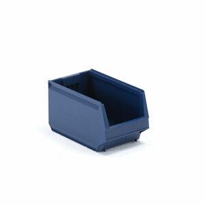 Plastový box 9000, série 9063, 350x206x200 mm, modrý