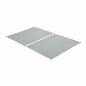 Zadní plechová výplň pro regál Mix s otevřeným rámem, 2500x1000 mm, pozink