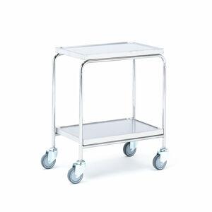 Nerezový vozík, 600x400 mm