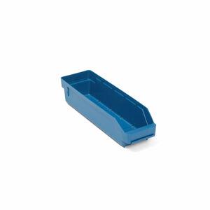 Skladová nádoba Reach, 400x120x95 mm, bal. 30 ks, modrá