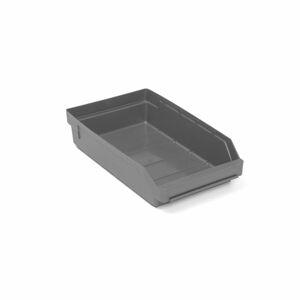 Skladová nádoba Reach, 400x240x95 mm, bal. 15 ks, šedá