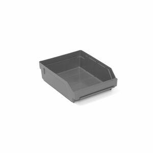 Skladová nádoba Reach, 300x240x95 mm, recyklovaný plast, šedá