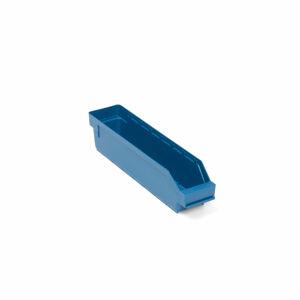 Skladová nádoba Reach, 400x90x95 mm, modrá