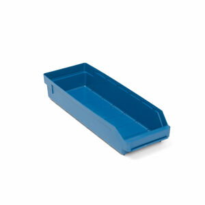 Skladová nádoba Reach, 500x180x95 mm, modrá