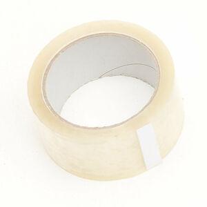 Lepicí páska, 50 mm, délka 6600 mm, transparentní