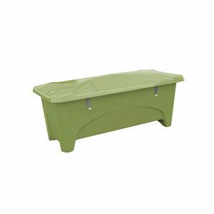 Venkovní úložný box, 475 l, zelený