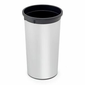 Odpadkový koš Bennet, 50 l, ? 380x730 mm, černý