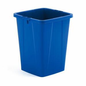 Koš na tříděný odpad Oliver, 90 l, modrý